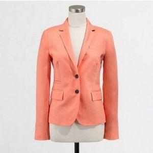 J. Crew Linen Keating Blazer Size 8